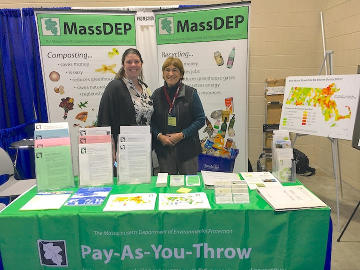 MassDEP staff at the Massachusetts Municipal Association annual conference.